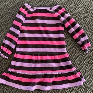 Baby GAP long sleeved striped dress size 3 kids